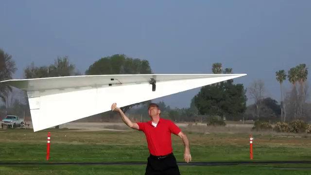 Aereo Privato Piu Grande Al Mondo : Il più grande aereo di carta al mondo video incredibili