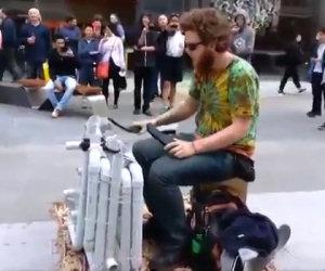 Il suonatore di tubi