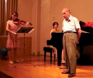 Impressionante talento di 92 anni