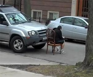 Una lezione esemplare per un automobilista indisciplinato