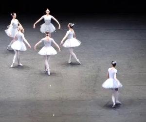 La ballerina ha la memoria corta