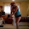 La campionessa di hula hoop