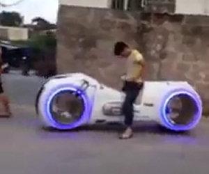 La moto di Tron nella vita reale
