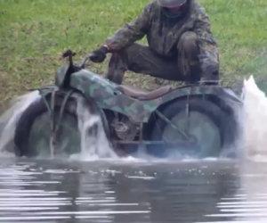 La moto unica e superleggera