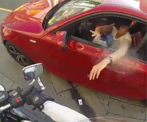 Le vendette della donna motociclista