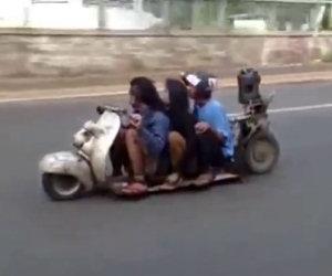 Lo scooter più basso del mondo