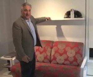 Un mobile geniale che trasforma una stanza in due o tre diverse
