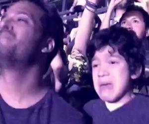 Porta il figlio autistico ad un concerto dei Coldplay. Emozionante!