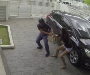 Ragazza si difende da una rapina