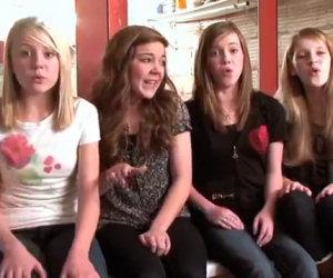 Anche senza base queste quattro ragazze riescono ad emozionare