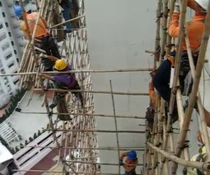 Sicurezza nei cantieri ad Hong Kong