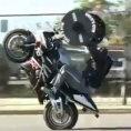 Sollevamento pesi in moto