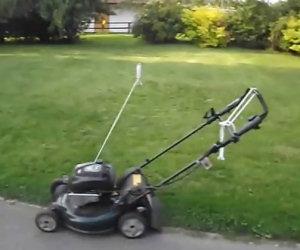 Tagliare l'erba: per i più pigri
