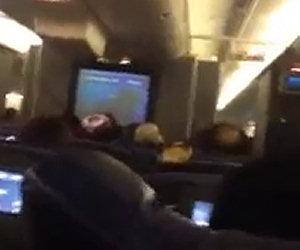Terrificante turbolenza in volo