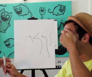 Trasformare scarabocchio in arte