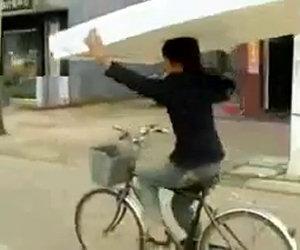 Trasporto ingombrante in bici