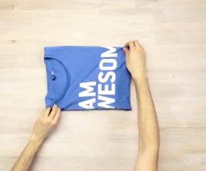 Tre modi per piegare le magliette