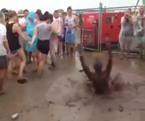 Vermi nel fango, che divertimento!