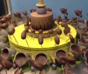 La stupenda illusione di cioccolato