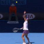 Tennis: servizio impreciso
