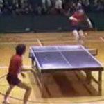 Ping pong acrobatico
