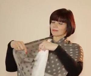 20 modi diversi di legare la sciarpa
