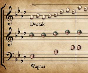 57 brani famosi di musica classica vengono uniti in un solo pezzo