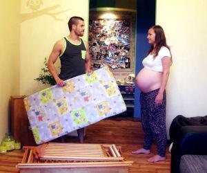 9 mesi di gravidanza in 2 minuti