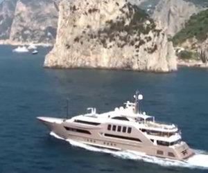A bordo di uno degli yacht più lussuosi al mondo, che meraviglia!