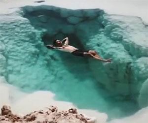Acqua incredibilmente trasparente, faresti un bagno qui?