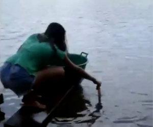 Andare a pesca di piranha