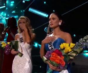 Il presentatore incorona la Miss Universo sbagliata