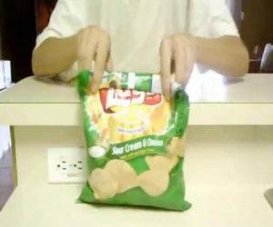 Chiudere il sacco delle patatine