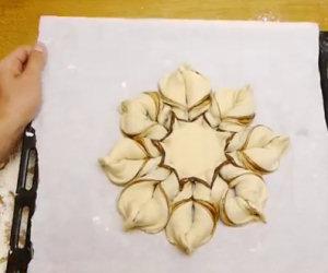 Fare pane e Nutella a forma di stella