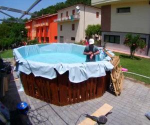 Ecco come costruire una piscina economica in pochissimo tempo!