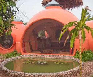 Ecco la casa da sogno che un uomo si è costruito con 10.000 €
