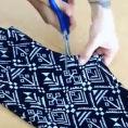 Taglia un pezzo di stoffa dai vecchi leggings, il risultato è fantastico