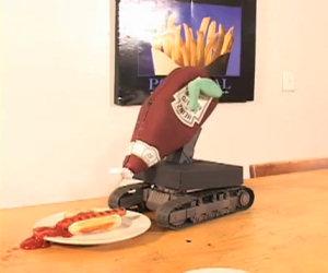 Epico fail per il robot del ketchup