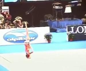 Fantastica esibizione con una palla