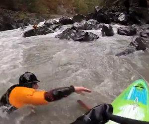 Fare kayak in modo estremo