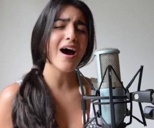 Ha 19 anni e canta in modo incantevole una versione di All of me