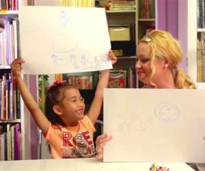 Chiedono ai bambini di disegnare l'amore, ecco cosa ne esce fuori