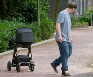 Sembra un normale passeggino ma nasconde una tecnologia unica