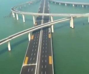 Ecco a voi uno dei ponti più spettacolari al mondo