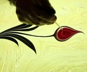 L'arte dell'inchiostro nell'acqua