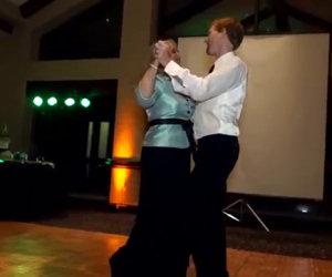 Incredibile ballo al matrimonio