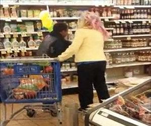 Assurda lite familiare al supermercato