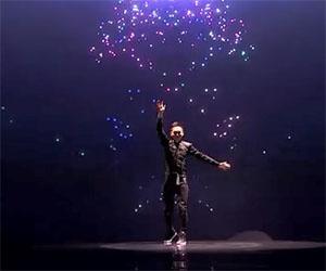 Un incredibile show di luci che vi stupirà
