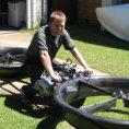 La bicicletta volante è finalmente realtà, ecco come funzionerà