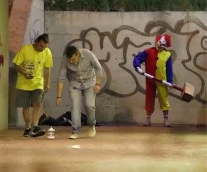 La candid del clown killer